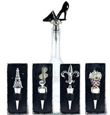 previous decorative wine stoppers glass