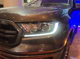 Led Signature Lighting Ford The New Ford Ranger Taillights Look Cool At Night