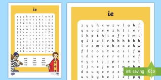 The lanternfish phonics resource section has greatly expanded. Ie Digraph Differentiated Word Search Teacher Made