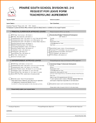Format Of A Leave Application Letter Best 7 For Office Image