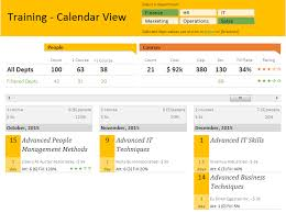workout excel templates excel template employee training tracker calendar tutorial
