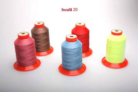 Threads Serafil No 20 600mts On A Cone 600m 2000ft Additional Color 114 Colors Available Produced By Amann Germany