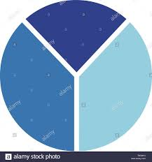 Y Chart Diagram Letter Y Round Icon Blue Logo Pie Chart Stock Vector Art