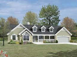 ranch house plan front of home for home plan also known as the foxridge country ranch home from house planore