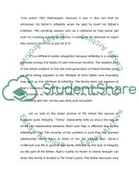 Character Analysis Of Papi Essay Example | Topics And Well Written ...