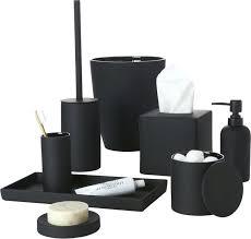 black bathroom accessories.  Black Grey And White Bathroom Accessories Red Black Sets  Unique Rubber Coated Bath  I