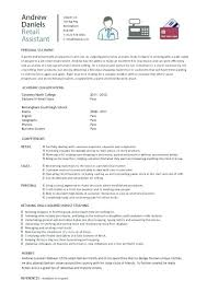 Sample Resume College Student No Experience Resume With No Work