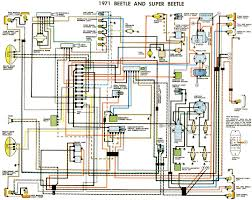 1974 vw beetle vw beetle wiring diagram 1971 at 74 Vw Bug Wiring Diagram