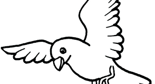 Printable Flying Bird Coloring Pages Coloring Games Movie