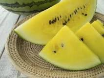 Image result for sweetest yellow watermelon