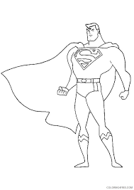 Includes 2 superman coloring books for kids, toddlers and adults alike. Justice League Coloring Pages Superman Coloring4free Coloring4free Com