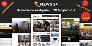 News 24 Is A Creative Clean And Unique Responsive