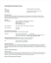 Text Resume Format Resume Template Directory