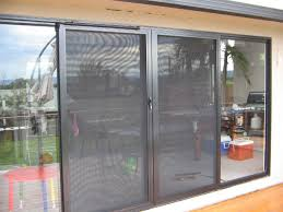armourscreen barrier doors with stainless steel security mesh
