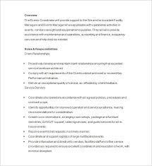 Buy Now Free Powerpoint Converter Sample Resume Events Coordinator