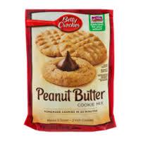 Roll pillsbury chocolate chip cookie dough cut dough in 1 slices, then in fourths. Betty Crocker Cookie Mix Peanut Butter 17 5oz Pkg Garden Grocer