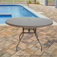 f36 fiberglass 36 inch round outdoor table