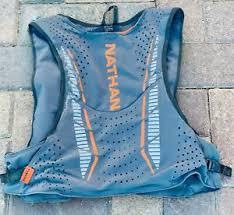 Details About Nathan Vaporkrar 4l Running Vest Size Xl 12oz Flasks 1 5l Osprey Blatter