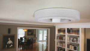 exhale fan is a unique ceiling fan because it has no blades so it operates