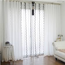 White And Black Curtains For Living Room Blackout Curtain For Bedroom Dolce Mela Dolce Mela Capri Thermal