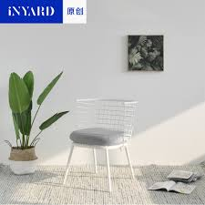 Inyard Original Metall Stuhlnordic Grid Outdoorindoor