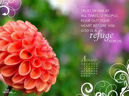Flower Bible Verse Desktop Background ...