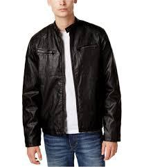 levi 039 s mens faux leather motorcycle jacket thumbnail