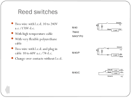 switches and sensors reed switches