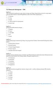 Tes potensi akademik latihan soal sninonim virtual 103 dan jawaban jawabanku id. Pdf Contoh Soal Tkd Cpns Soal Tkd Soal Tpa Tes Intelegensi Umum Tiu Tara Uchiha Academia Edu