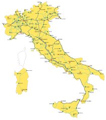 italy rail map italiarail com Northern Train Line Map italy rail map northern train line map