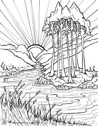 Download free printable nature coloring pages. Nature Coloring Books For Adults Coloring Coloring Pages Free Colouring Nature Easy Abstract Coloring Pages Coloring Pages Nature Cartoon Coloring Pages