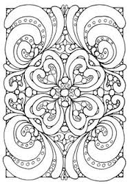 Small Picture Blank Coloring Page Mandala By Shala Kerrigan Posted on Monday