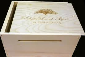 wine crates are instant attention getters and conversation pieces my personal favorite are the wedding wine boxes with a carved slot for gift cards