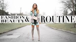 winter fashion beauty routine lydia elise millen ad