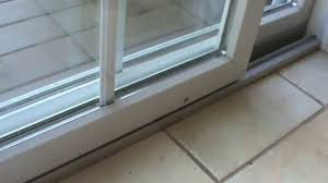 How to fix the sliding door that sticks - YouTube