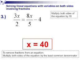 solving equations with variables fractions on both sides jennarocca