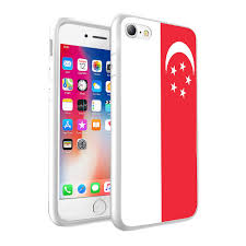 Design Skin Phone Case Singapore For Samsung Galaxy A3 2016 Singapore Flag Design Printed White Case Skin Cover 0157 By I Tronixs