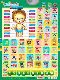 Qitai Russian Phonetic Talking Poster Russia Baby Language
