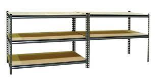 impressive gorilla rack shelving boxedworkbench