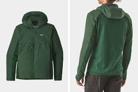 paonia nano air light hybrid insulated hooded jacket