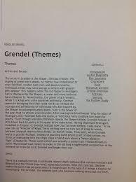 grendel essay topics orig g grendel essay topics grendel essay  grendel essaygrendel beowulf senior english topics for grendel essay