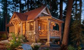Cool Design Ideas Cabin House Plans With Basement Small Cabins Cool Small Cabins