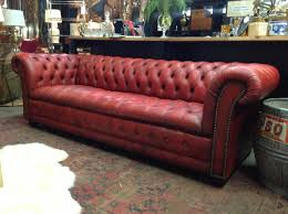 ... Sofa:Creative Tufted Leather Chesterfield Sofa On A Budget Best With Tufted  Leather Chesterfield Sofa ...