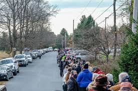 SOPA Images - Gallery - Election Day in Milford, US
