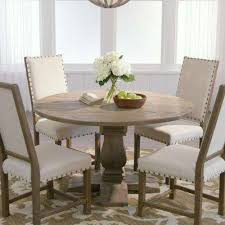 distressed wood dining table intended for round rustic kitchen tables plans