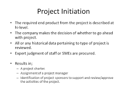 project management fundamentals project organization and  6 project initiation