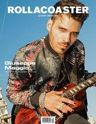 Giuseppe Maggio Covers Rollacoaster Magazine Autumn/ Winter 2020 -  Rollacoaster.tv