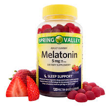 Spring Valley Melatonin Adult Gummies 5 Mg 120 Count Walmart Com