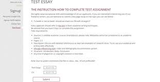 entry tests to writing agencies com test essay for lance academic writers at academia research