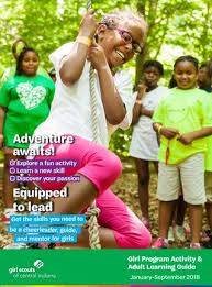 Scouts Program Of Issuu Spring By Girl 2018 Guide Central Indiana HqWxwdaX